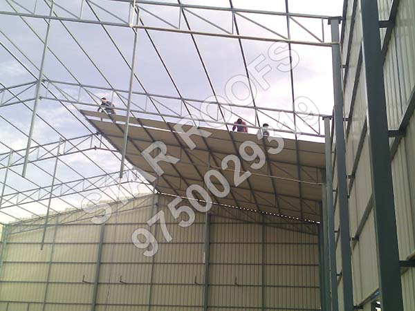 Badminton Court Roofing in Chennai