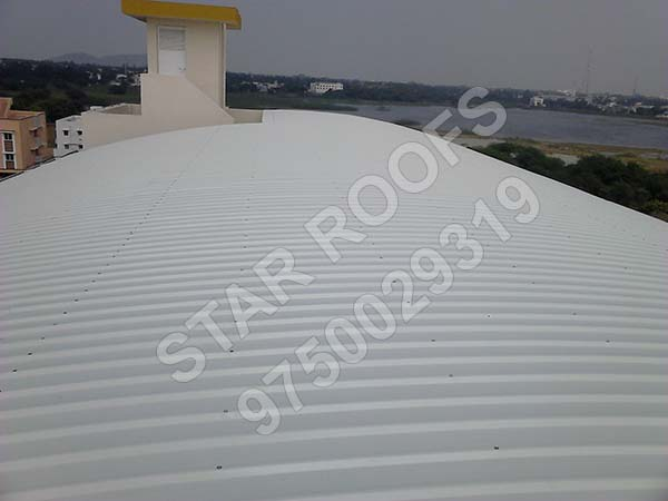 badminton roofing shed chennai