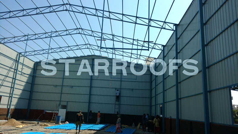 godown shed fabrication in chennai