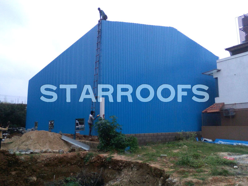 work shop roofing shed in chennai