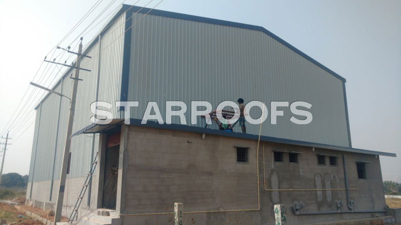 Industrial Roofing Shed Contractors in Chennai